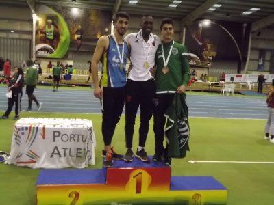 Marcos Maio do Olímpico Vianense sagrou-se Vice-Campeão de Portugal de Salto em Altura