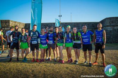 Atletas do Olímpico Vianense juntam-se em trail solidário no Monte Santo Antão
