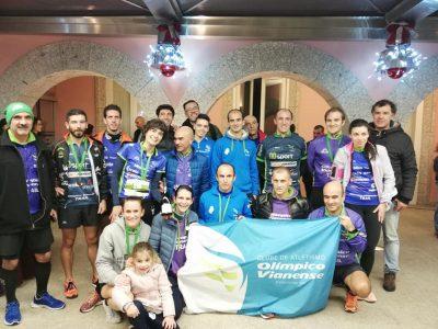 Atletas do Olímpico Vianense conquistam oito pódios em São Silvestre de Ponte da Barca