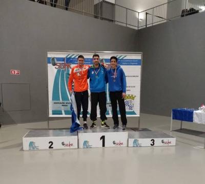 Marcos Maio sagra-se campeão do Norte em pista coberta