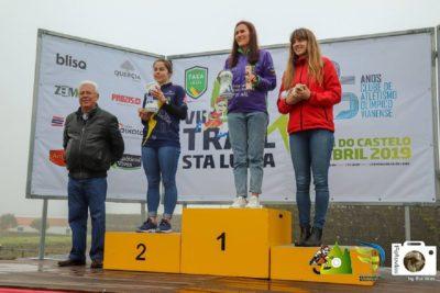 Carla Pereira vence trail curto de VII Trail de Santa Luzia