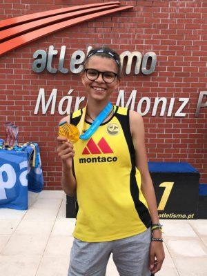 Marta Lisboeta sagra-se campeã nacional de heptaplo em Lisboa