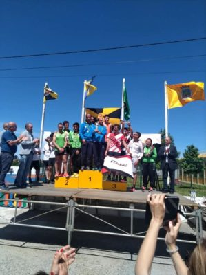Atletas do Olímpico Vianense conquistam quatro pódios na Prova do Triângulo em Vila Nova de Anha