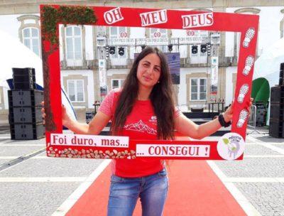 """Elena Dominguez conquistou o 1º lugar no seu escalão no """"OH MEU DEUS – Ultra Trail – Serra da Estrela"""""""