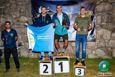 Atleta do Olímpico Vianense vencem provas do III Trail Noturno Monte St. Antão e do III Trail Caminhos do Caima